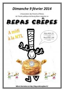 affiche repas crêpes 2014