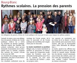 article Le Télégramme du 29-4-2014