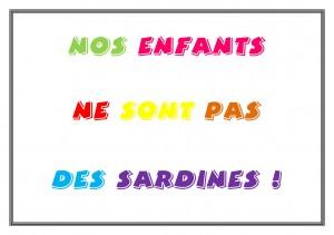 NOS ENFANTS=SARDINES
