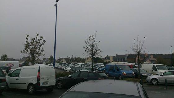 Le parking n'a pas cessé de désemplir dès l'aube!