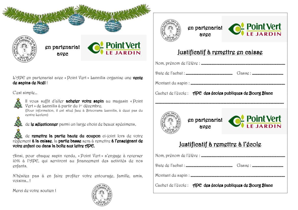 Noel blog de l 39 ape de l 39 cole publique de bourg blanc - Achat noel paiement differe ...